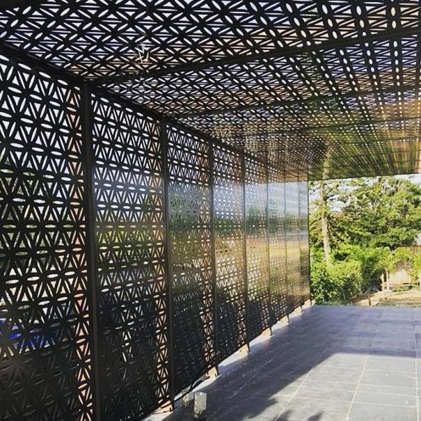 Aluminium Fabrication, Decorative Garden Privacy Screens ...